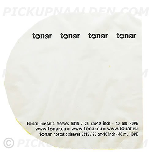 TONAR-NOSTATIC-SLEEVES-50/PACK - TONAR NOSTATIC SLEEVES 50/PACK